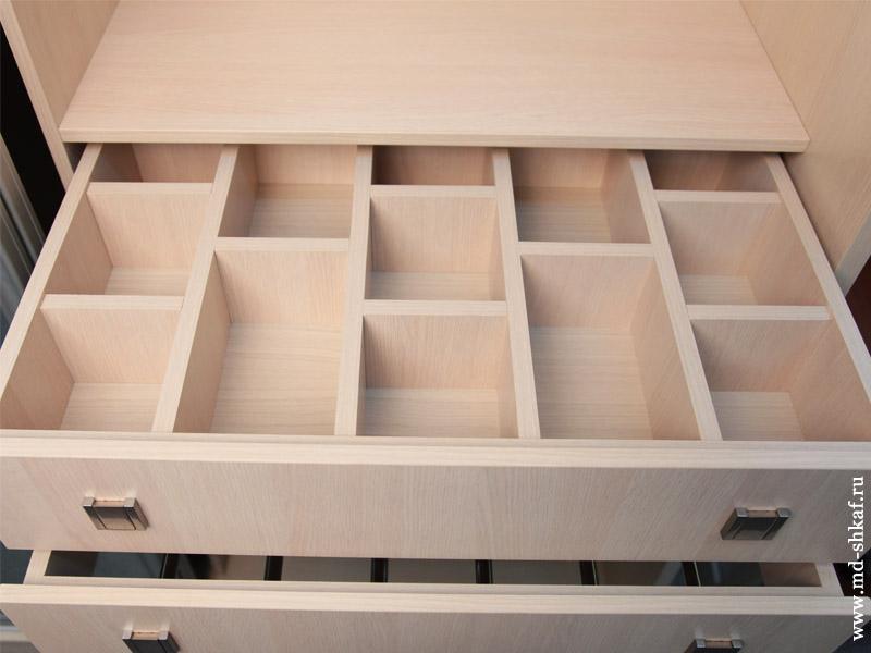 Как сделать выдвижной ящик в шкафу купе